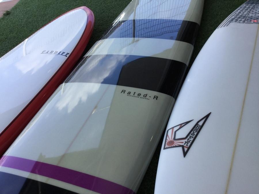 【中古サーフボード買取】ロングボードやショートボードの在庫紹介!