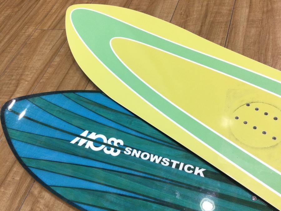【スノーボード買取】モス スノースティックのスノボが多数入荷!