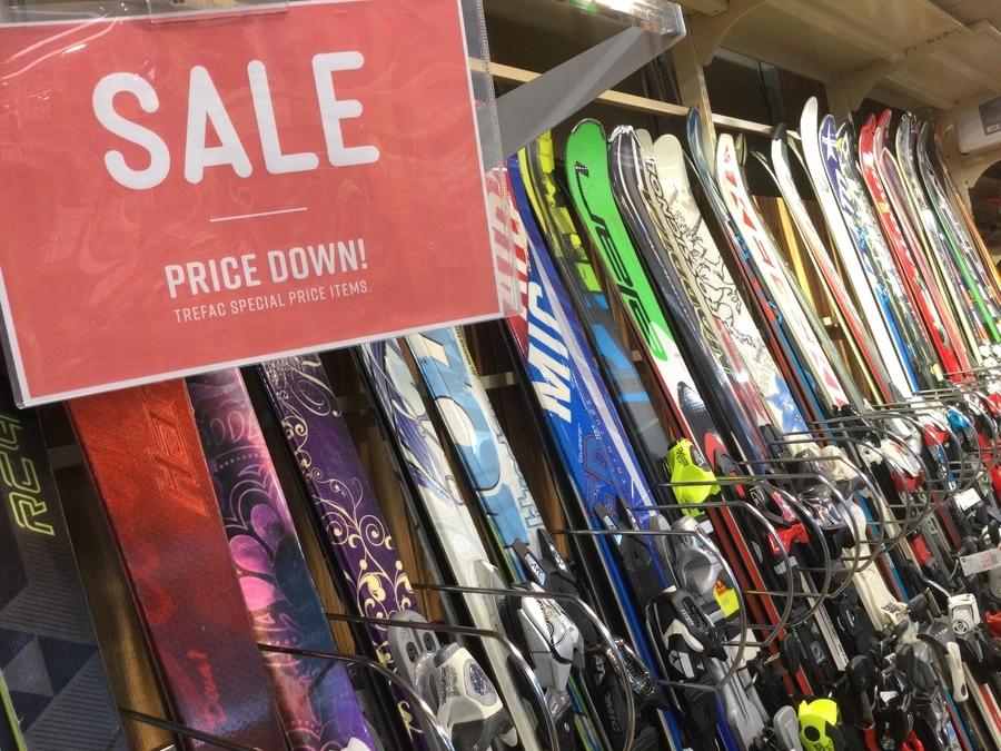 【スキー調整大歓迎】レンタルよりお得なスキー・スノボ用品を買うなら岩槻店へ!