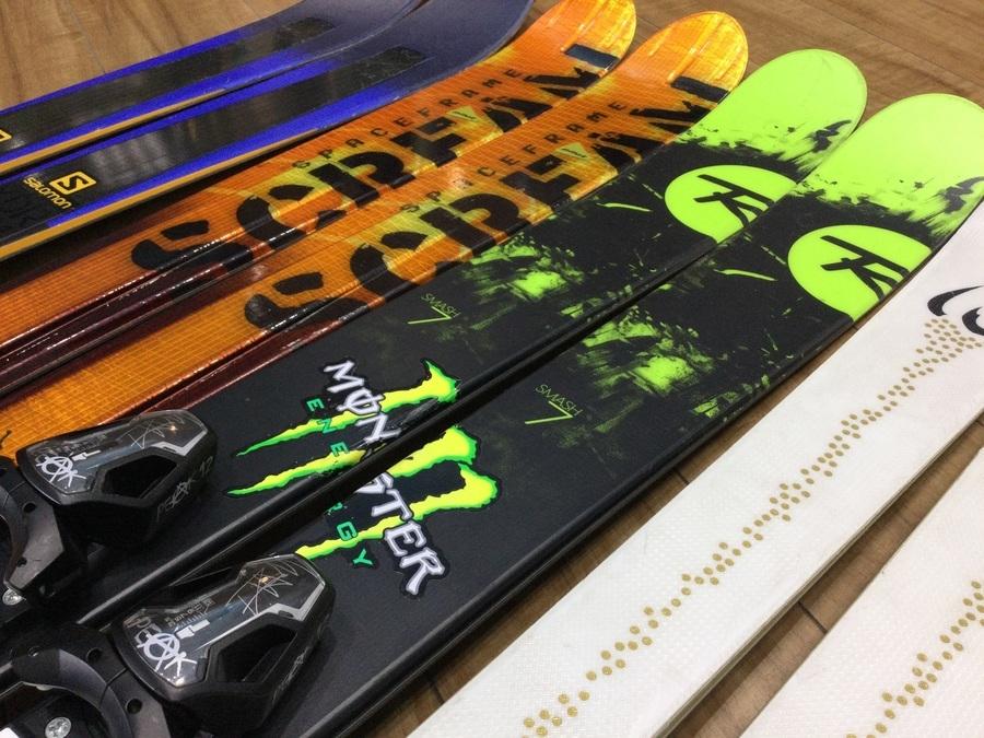 【スキー買取】ID ONE(アイディーワン)他フリースタイルスキーがオンラインで購入できます!