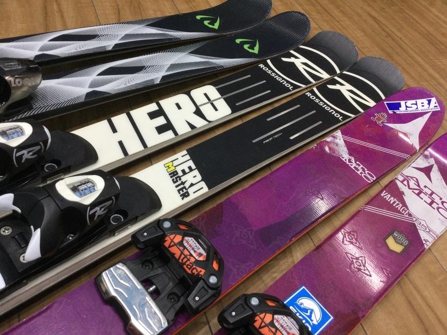【北陸・東北・北海道の方】オンラインで中古スキー購入できます!