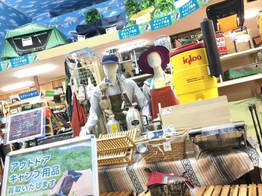 【キャンプ用品買取】トレファク岩槻店が高額査定を目指します!