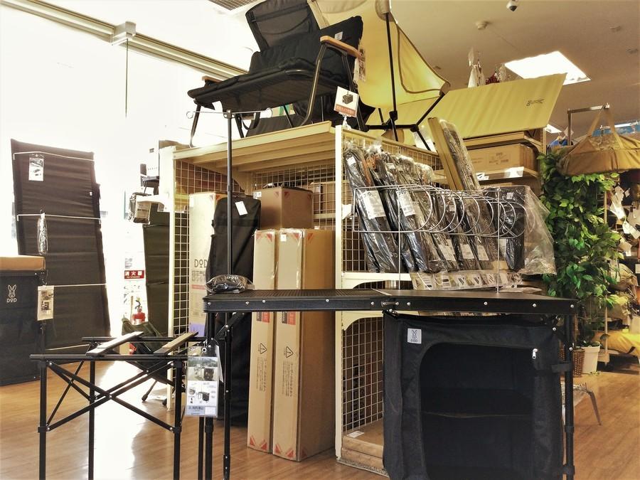 【DOD新入荷】秘密のグリルちゃんやオクラタープ他、続々入荷!