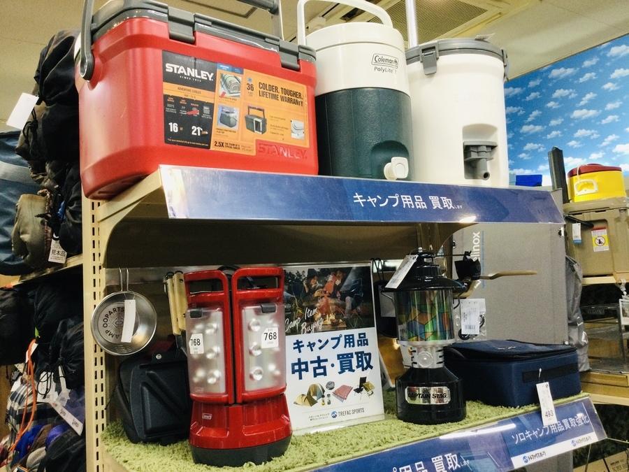 【中古キャンプ用品買取】埼玉でアウトドア用品を揃えるならトレファクスポーツにお任せください!
