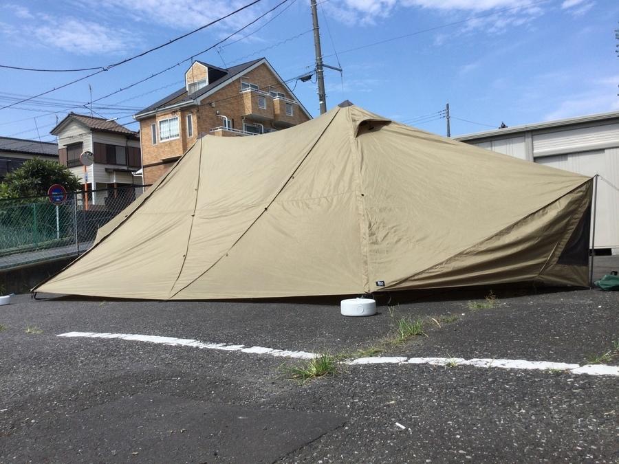 【ゼインアーツ買取】大型シェルターギギ2入荷!ファミリーキャンプにもおすすめ!