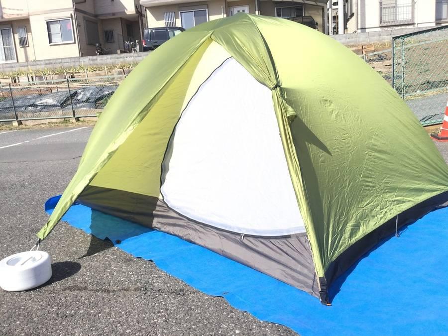 キャンプ用品のアライテント