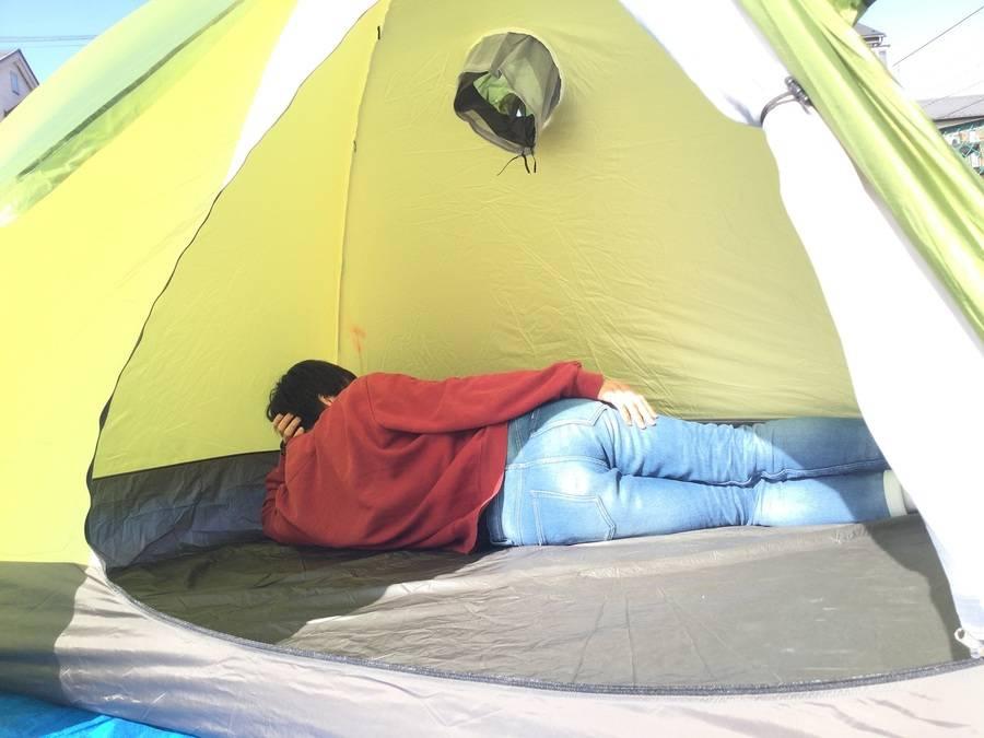 トレックドームの山岳テント