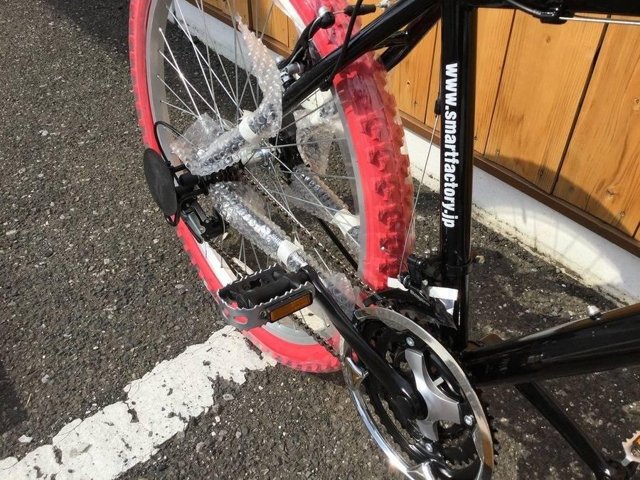 マウンテンバイクのクロスバイク