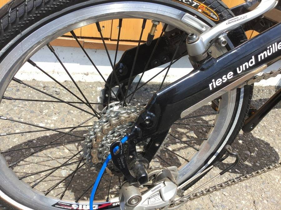折りたたみ自転車のR&M(ライズアンドミューラー)