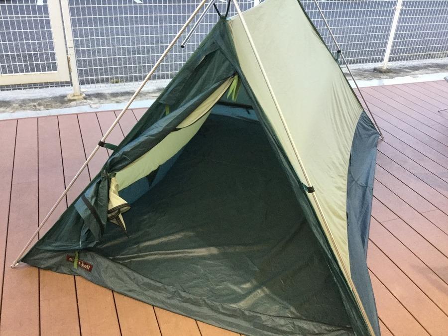 テントのムーンライト