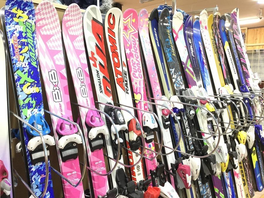 スキーのスノーボード