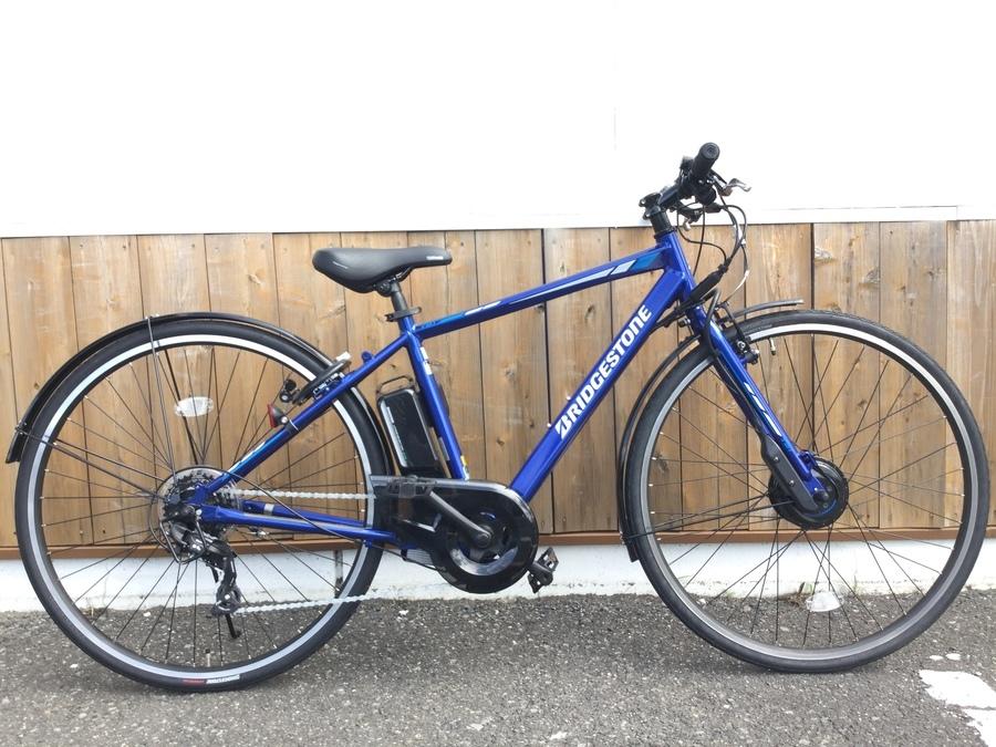 キャンプ用品の自転車
