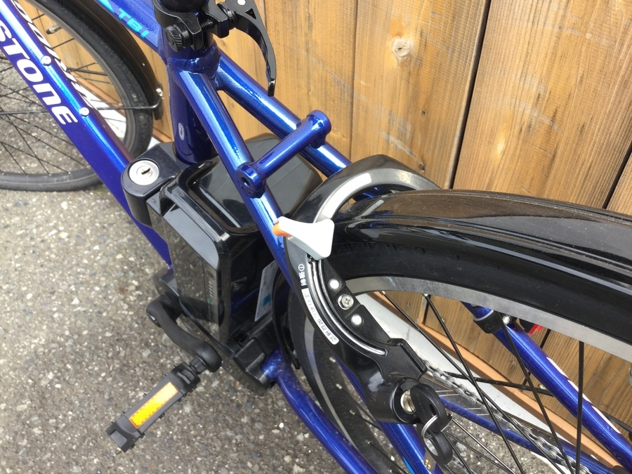 クロスバイクの岩槻 アウトドア用品
