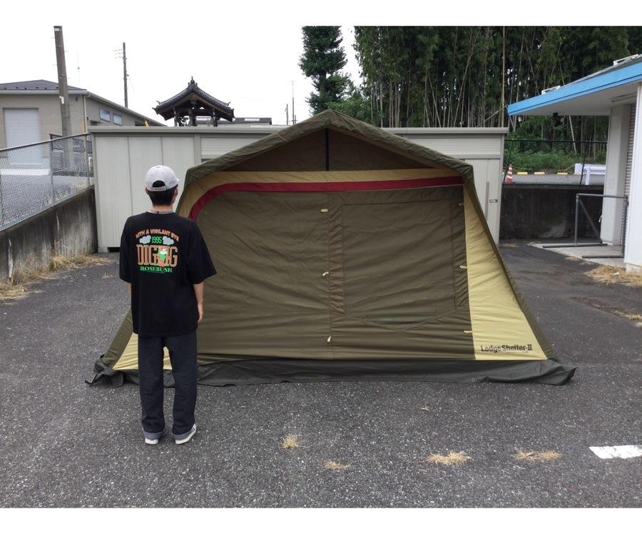 キャンプ用品のシェルター
