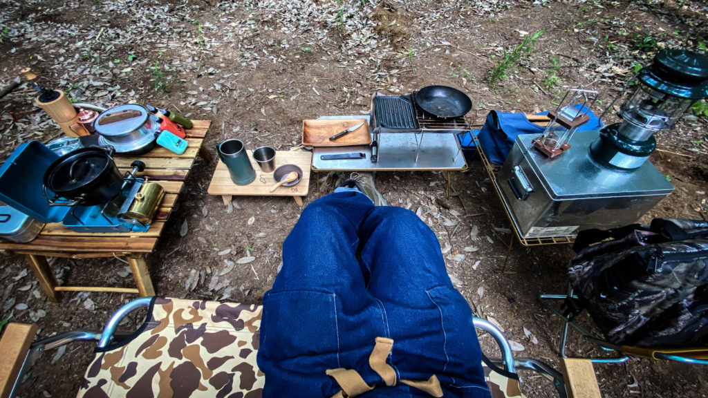 【6月連載④】ヤマケン、こよなく愛するキャンプ道具沼についてかたる