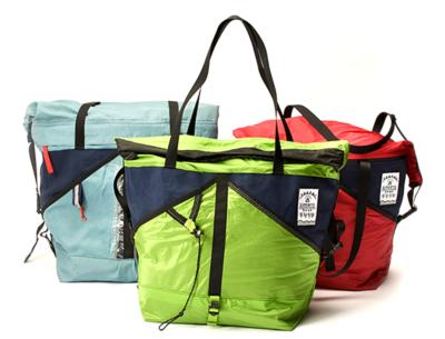 トレファクスポーツだからこそできるエコバッグプロジェクト ~思い出のテント&タープが世界で1つだけのバッグに~